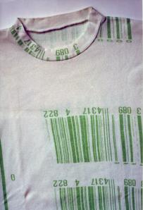 la prima t-shirt che ho realizzato 1977-78